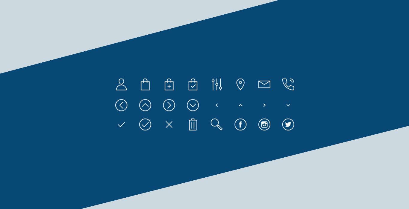 Helvetia custom brand icons